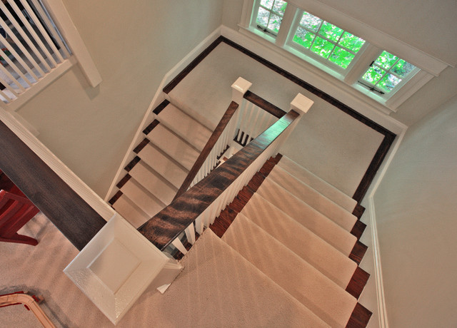 Upton Architecture traditional-staircase