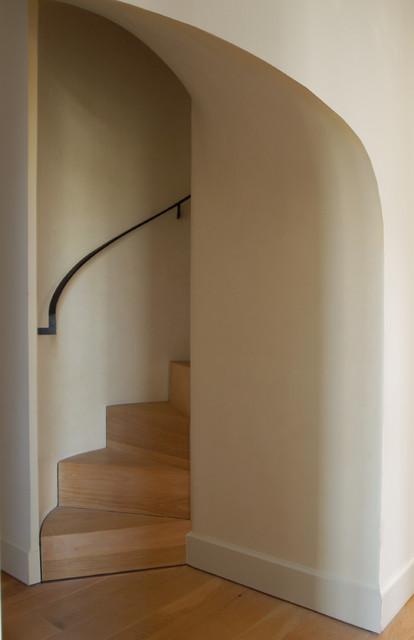 Urban Homestead contemporary-staircase