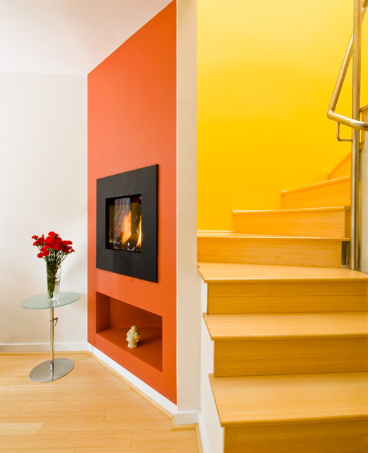 Various Ark Contracting projects contemporary-staircase