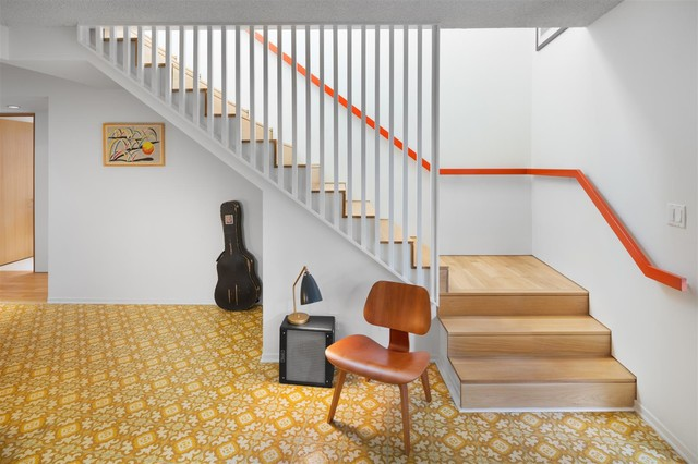 Venice Remodel Midcentury Staircase Los Angeles By