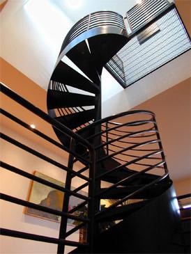 Veverka Architects modern-staircase
