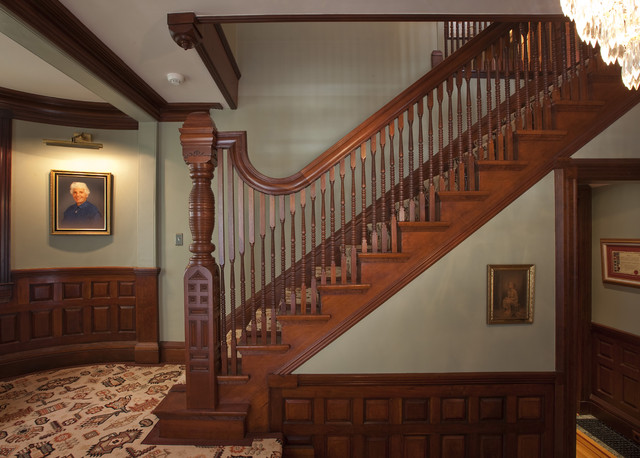 Victorian Splendor Traditional Staircase Boston By