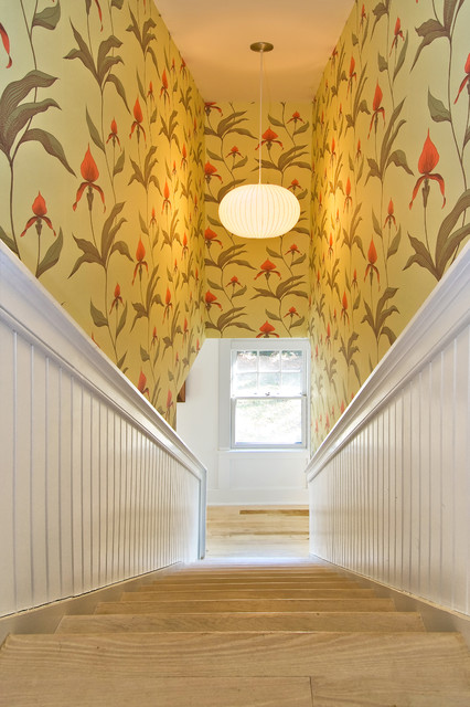Sims Road traditional-staircase