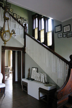 KitchenLab eclectic staircase