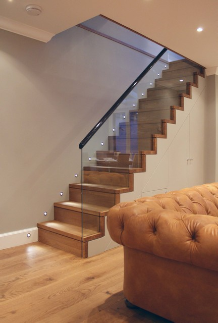 Victorian Terraced Townhouse In Primrose Hill North West London Modern Staircase London