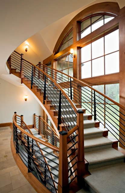 View of Stair traditional-staircase