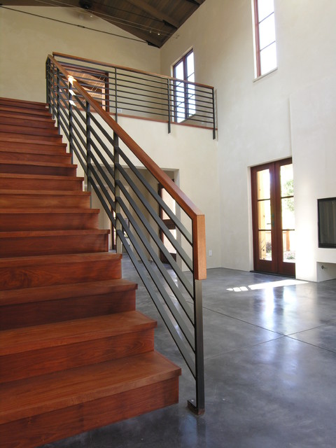 Vineyard Residence contemporary-staircase