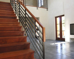 Vineyard Residence contemporary staircase