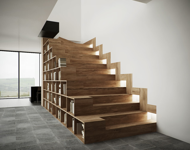 Stairs Furniture VWA Architects Stairfurniture Contemporarystaircase Stairs Furniture