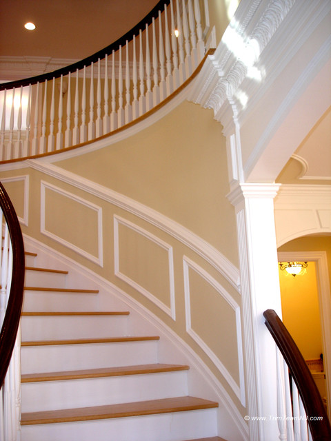 Wainscoting Using Picture Frames on wallpaper frames, furniture frames, home frames, bathroom frames, elevator frames,