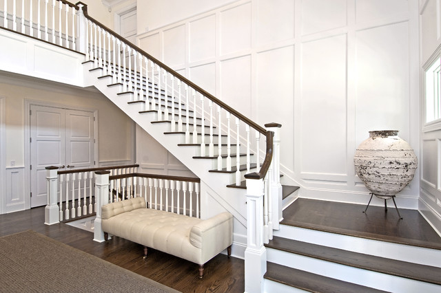Wainscott South Traditional Staircase New York by