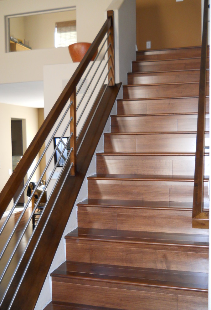 Wallace Residence - Contemporary - Staircase - San Diego ...