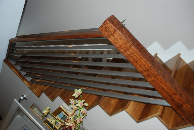 Walnut stairs staircase