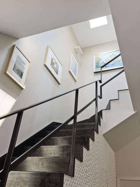 Warehouse Conversion contemporary staircase