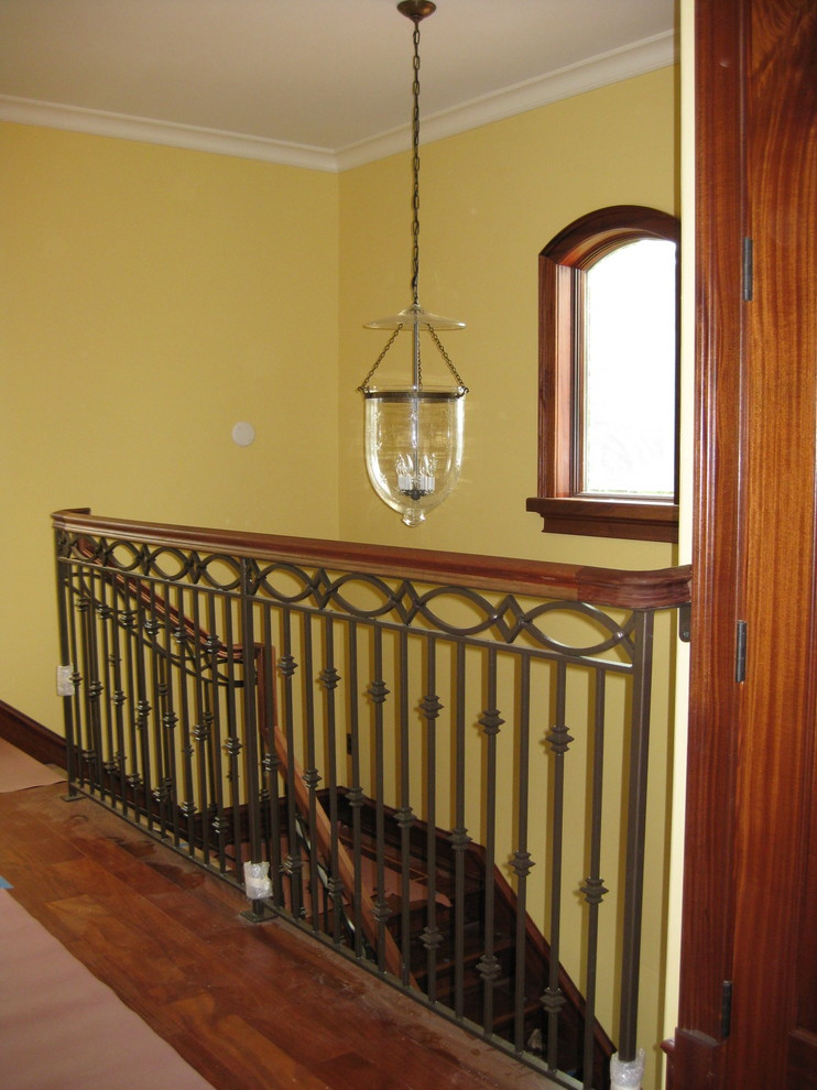 Example of a tuscan staircase design in Tampa