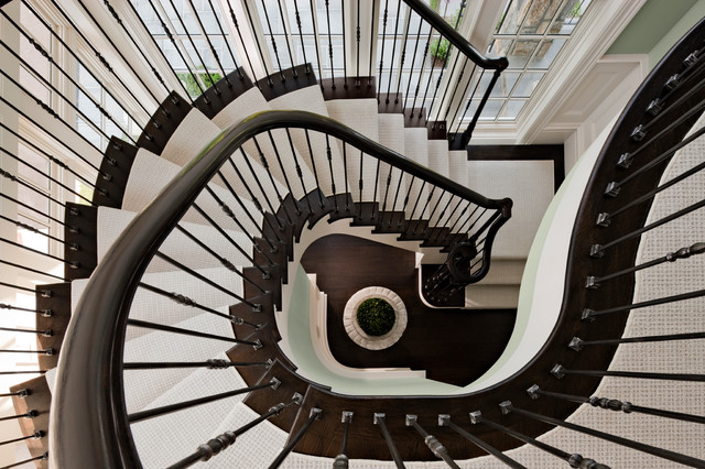 Waterfront Residence Traditional Staircase New York