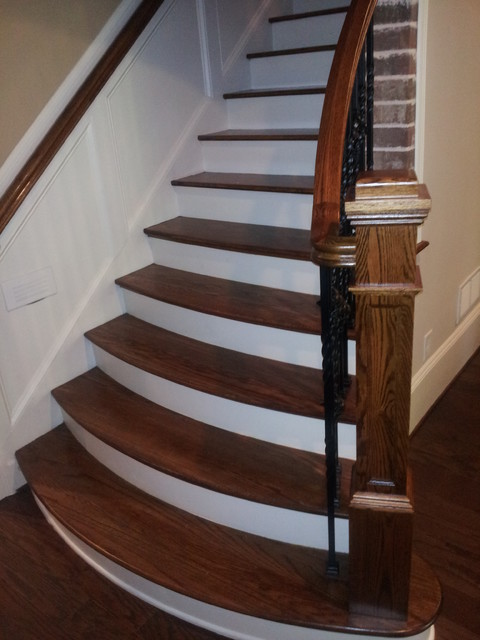 Watsons Bend Traditional Staircase Atlanta By