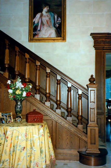wellesley residence 1 - stairway- dpcb.24 traditional-staircase