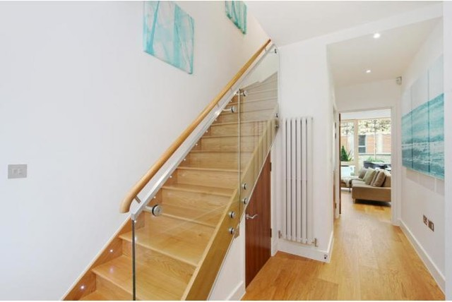 Wembly Passive House modern-staircase