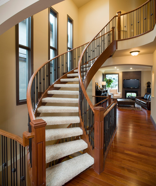 West Hillhurst Executive traditional-staircase