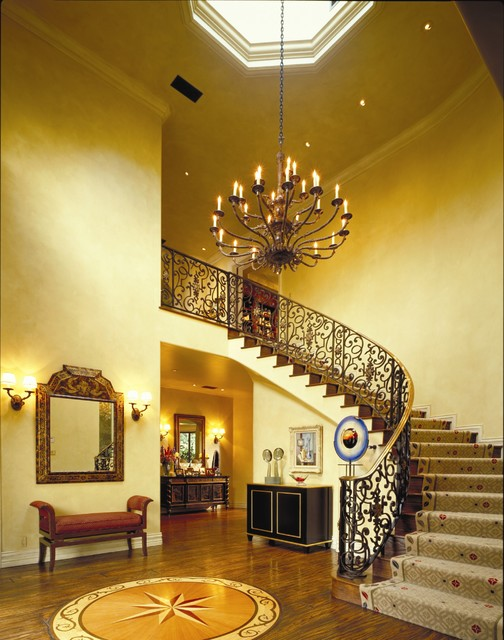 West Los Angeles traditional-staircase