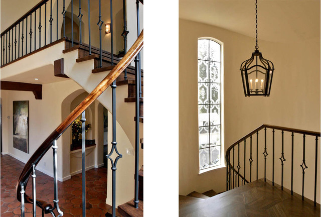 Inspiration for a mediterranean staircase remodel in San Francisco