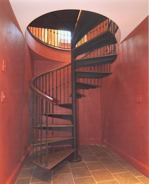 Weston Wine Cellar Mediterranean Staircase