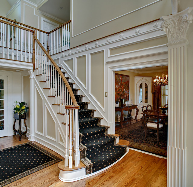 Traditional Foyer Questions : Westport ct foyer traditional staircase new york
