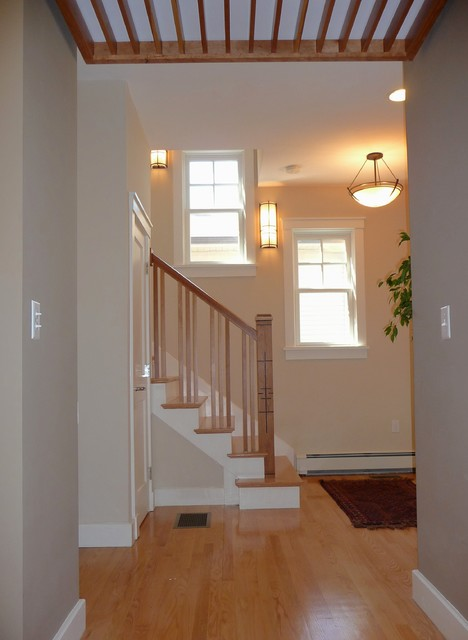 Westwood Cottage eclectic-staircase