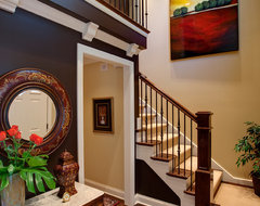 Wheaton Townhome traditional-staircase