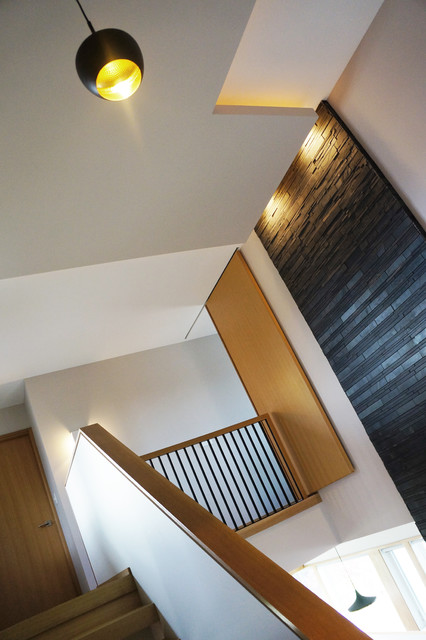 Whispering Way modern-staircase