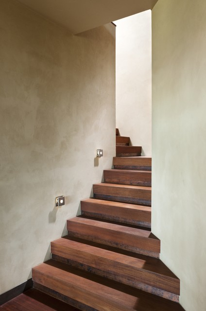 Whitefish Residence contemporary-staircase