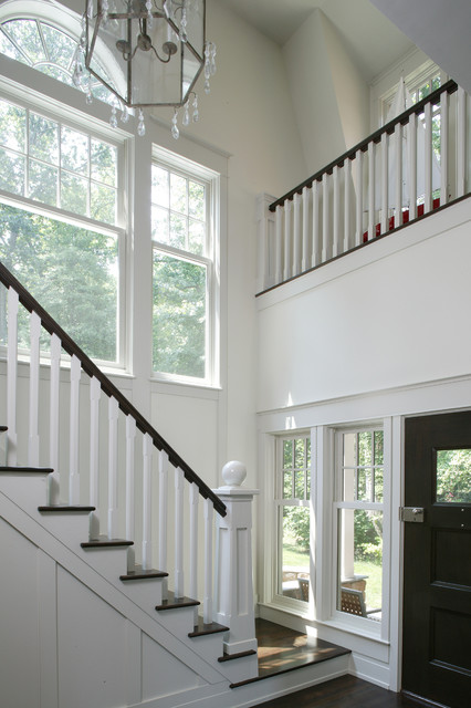 Whitehall Creek Home traditional-staircase