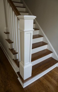Whole House Renovation Project Traditional Staircase