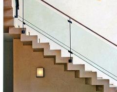 William Hefner Architecture modern-staircase
