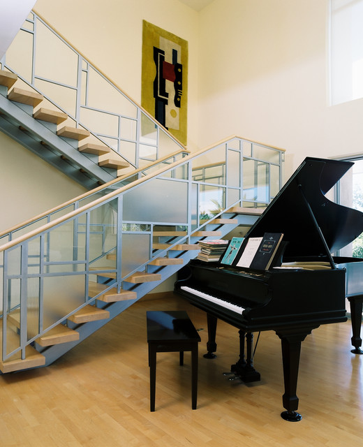 William Hefner Architecture Interiors & Landscape contemporary staircase