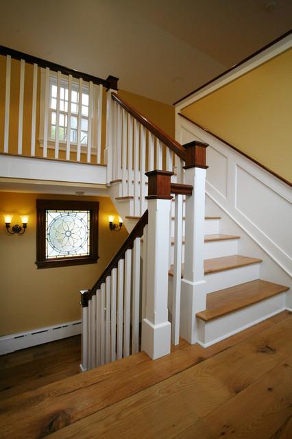 Wilsondale restoration farmhouse-staircase