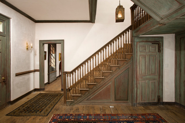 Wilton Historic Restoration Farmhouse Staircase Dc