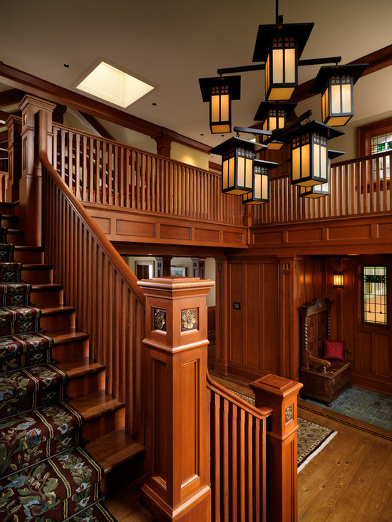 Craftsman Interior Design In Kerala Staircase Design Ideas