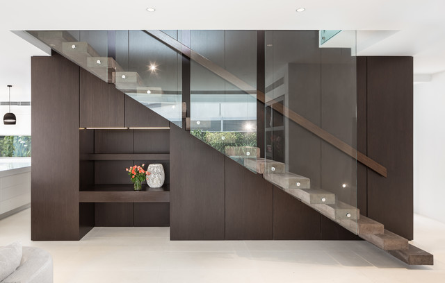 Witta circle house contemporary staircase brisbane - Maison architecte queensland tim ditchfield ...