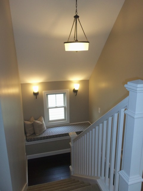 Wolf Point Cottages traditional-staircase