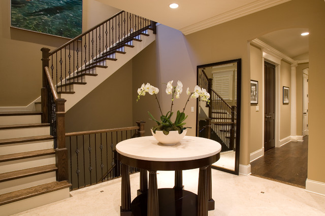 Houzz Open Foyer : Wolfram foyer