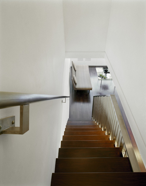duplex renovation   upper east side nyc   contemporary   staircase