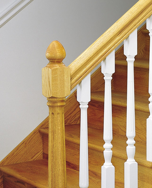 Elegant Foyer Stair Wraps A Paneled Two Story Entry Hall: Wood Balusters
