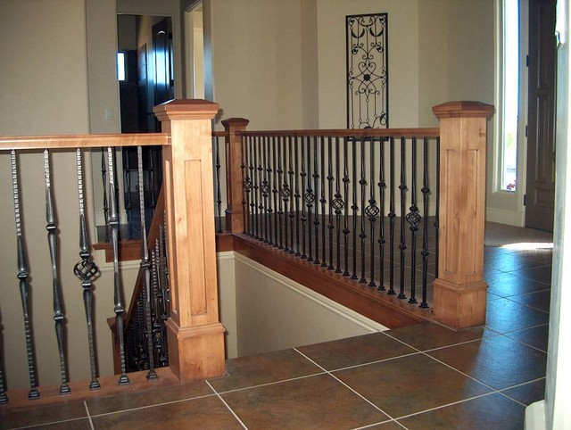 Inspiration For A Mid Sized Timeless U Shaped Staircase Remodel In Salt Lake City