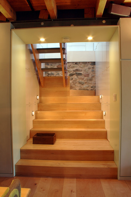Superb Wood Stair Modern Staircase