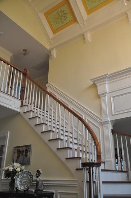 Woodbridge Builders traditional-staircase