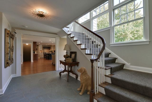 Woodland Residence traditional-staircase