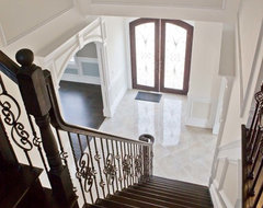 Woodmere New Construction Home traditional staircase