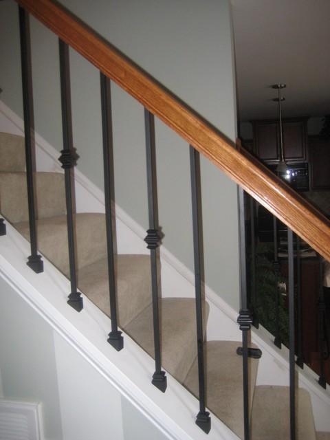 28 installing metal balusters on stairs metal baluster inst